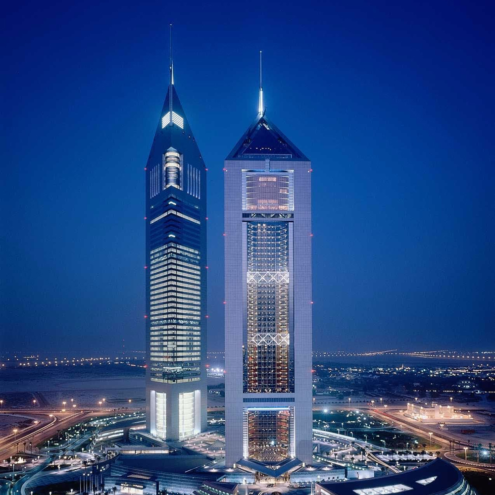 Delmatic The Lighting Management Company Emirates Towers