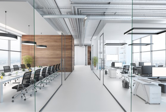 delmatic wireless lighting controls for global tech hq