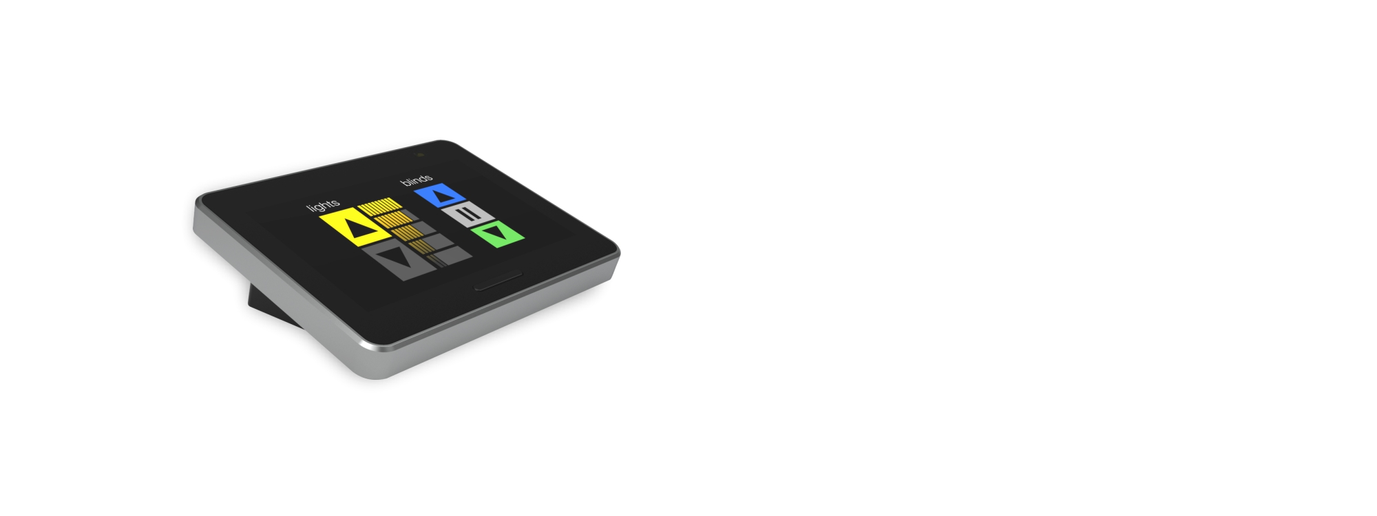 delmatic lighting control system touchpad